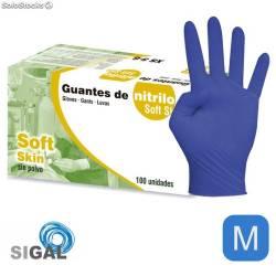 GUANTE SIGAL NITRILO SP SOFT SKIN T M