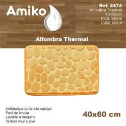 ALFOMBRA THERMAL 40X60CM  MOD STONE ZINNA