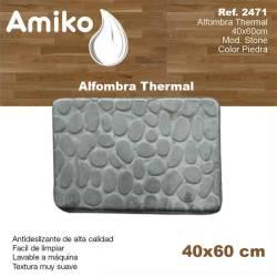 ALFOMBRA THERMAL 40X60CM  MOD STONE PIEDRA