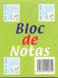 BLOCKS DE NOTAS DE COLORES