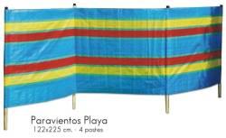 PARAVIENTOS PLAYA 122X125