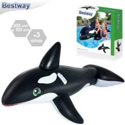 ORCA HINCHABLE 203X102 CM