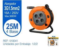 ALARGADOR ENROLLABLE 4 TOMAS 25M