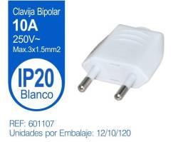 CLAVIJA BIPOLAR RECTA BLANCA
