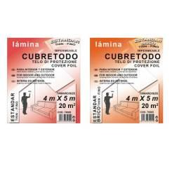 LAMINA CUBRETODO ESTANDAR 4X5M BRICO