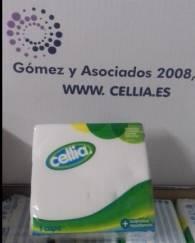 SERVILLETAS CELLIA 30X30 SENCILLO BLANCO