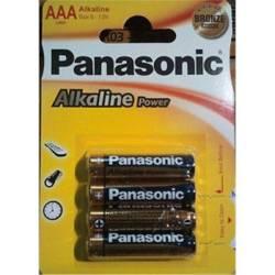PILA LR03 ALK POWER PANASONIC  BLISTER 4