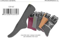 CALCETIN CANALE T 39 42 COLORES SURTIDOS