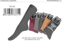 CALCETIN CANALE T 43 46 COLORES SURTIDOS