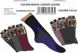 CALCETIN MEDICAL CONFORT COLORES T 43 46