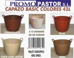 CAPAZO BASIC COLORES 42L