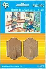 COLGADOR PLASTICO GRANDE SURTIDO 2 UDS