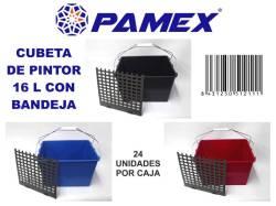 CUBETA PINTOR 16L CON BANDEJA
