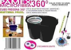 CUBO FREGONA 360 SISTEMA FACIL