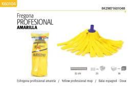 FREGONA PROFESIONAL AMARILLA