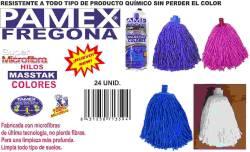 FREGONA SUPER MICROFIBRA HILOS MASSTAK COLORES