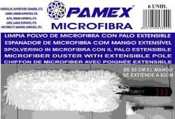 LIMPIA POLVO DE MICROFIBRA CON PALO EXTENSIBLE