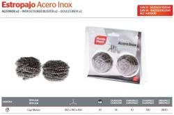 ESTROPAJO ACERO INOX LOTE 2