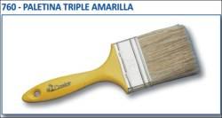 PALETINA TRIPLE AMARILLA N 18