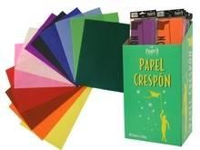 PAPEL CRESPON COLORES 50X250MM