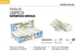 PIEDRA DE LIMPIEZA SUPERFICIES ALANOS