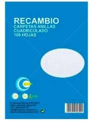RECAMBIO 100H CUADROS
