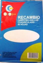 RECAMBIO 50H CUADROS