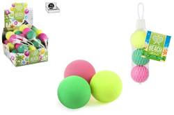 SET 3 PELOTAS PALAS PLAYA EN RED