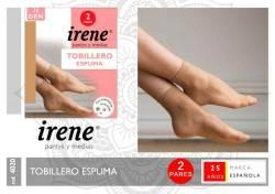 TOBILLERO ESPUMA 2 PARES T U  VARIOS COLORES