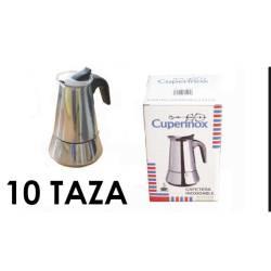 CAFETERA ACERO INOXIDABLE 10 TAZAS INDUCCION