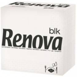 SERVILLETAS RENOVA BLK TIPO G X 18 BLANCO