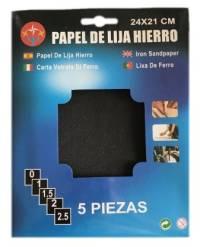LIJA DE METAL 5PCS