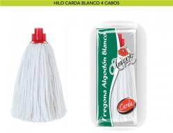 FREGONA HILO ALG  BLANCO 4C  CARDA DOMESTICA TIPO150