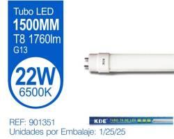 TUBO LED T8 22W LUZ FRIA